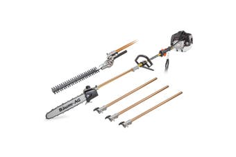 Baumr-AG 65CC Long Reach Pole Chainsaw Hedge Trimmer Pruner Chain Saw Tree Multi Tool