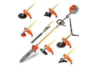 MTM 62CC Pole Chainsaw Hedge Trimmer Brush Cutter Whipper Snipper Multi Tool Saw