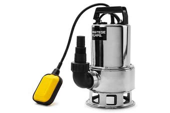 PROTEGE 1500W Submersible Dirty Water Pump Bore Tank Well Steel Automatic Clean
