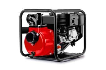 Warton 8HP 3 Inch Petrol Water Transfer Pump High Pressure Fire Fighting Irrigation