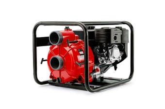 WARTON 8HP 3 Inch Petrol Trash Water Transfer Pump Pressure Firefighting Irrigation