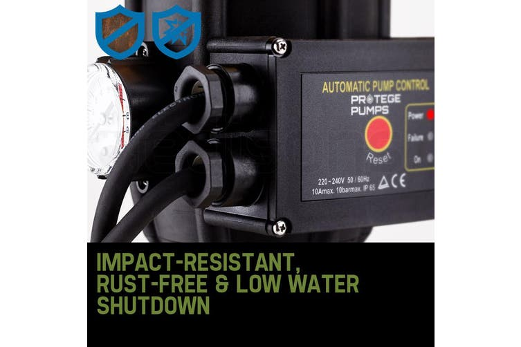 PROTEGE Multi Stage High Pressure Auto Water Pump Electric Digital Controller