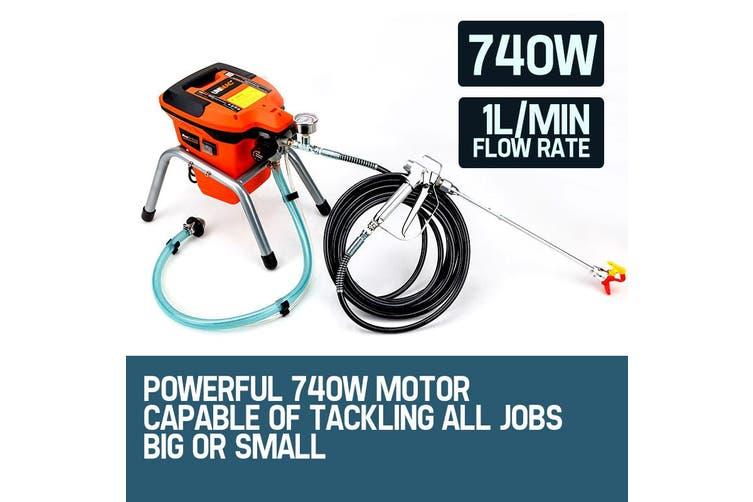 UNIMAC Airless Paint Sprayer - 740W Electric Spray Station DIY Gun Pressure