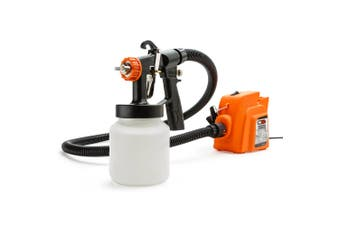 UNIMAC 3-Way Nozzle Electric Paint Sprayer Gun HVLP DIY Spray Station 450W
