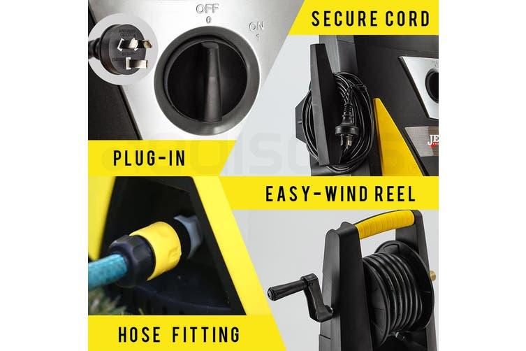 JET-USA 3500 PSI High Pressure Washer Cleaner Electric Water 8M Hose Gurney Pump