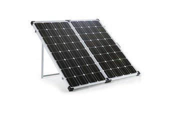 G&P 12V 250W Folding Portable Mono Solar Panel Kit Caravan Camping Power USB