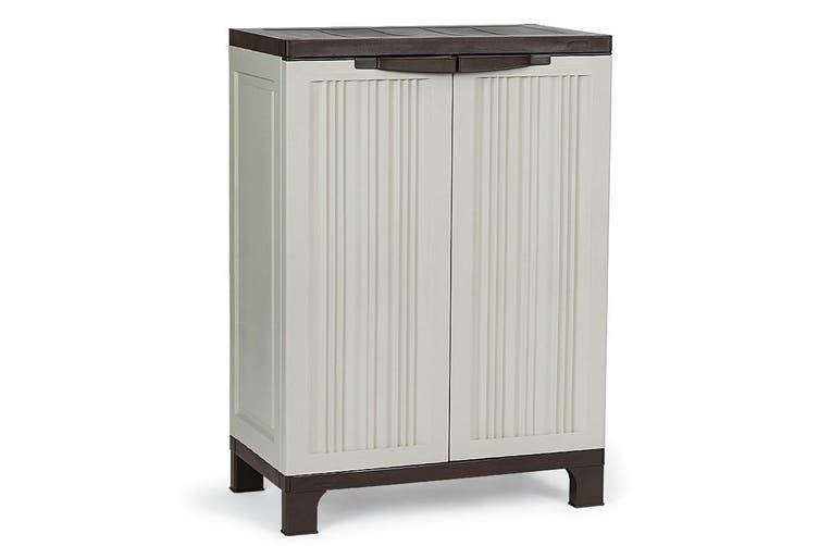 PLANTCRAFT Outdoor Storage Cabinet Lockable Cupboard Shed Carport Garage