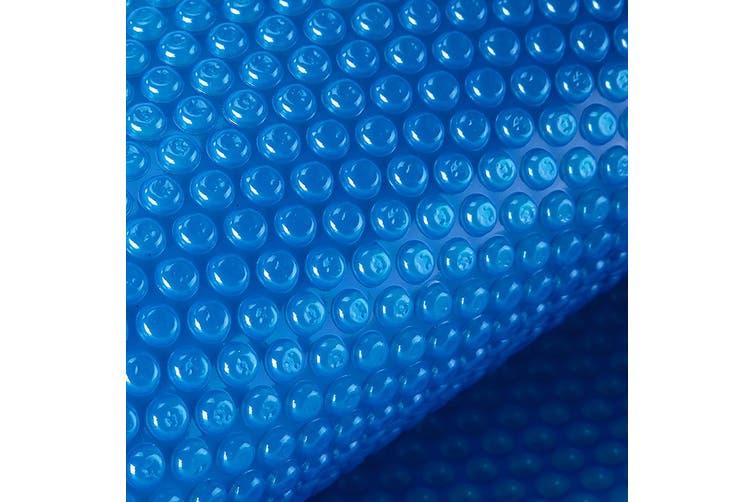 AURELAQUA Pool Cover 400 Micron 8.5x4.2m Solar Blanket Swimming Thermal Blue