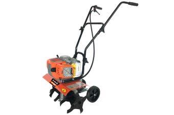 BAUMR-AG 75cc Tiller Rototiller Cultivator Garden Soil Power Mini Rotary Hoe