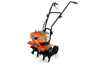 BAUMR-AG 85cc Tiller Rototiller Cultivator Garden Power Soil Mini Rotary Hoe (Pre-order)