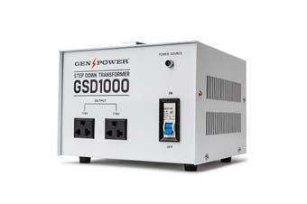 GENPOWER 1000W Step Down Transformer 240v-110v Stepdown Voltage Converter AU-US