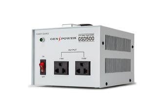 GENPOWER 500W 240V-110 Step Down Transformer Stepdown Voltage Converter AU-US