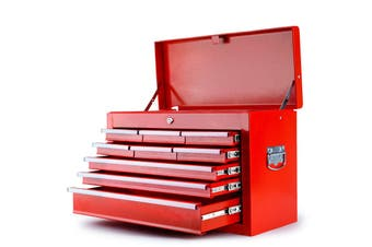 BULLET 9 Drawer Tool Box Chest Organiser Mechanic Garage Storage Toolbox Set