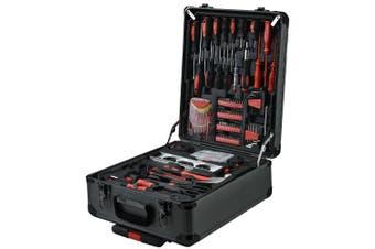 BULLET 925PC Tool Box On Wheels Kit Trolley Mobile Handle Set Toolbox Storage