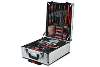 BULLET 925PC Tool Box On Wheels Kit Trolley Mobile Handle Toolbox Storage Set