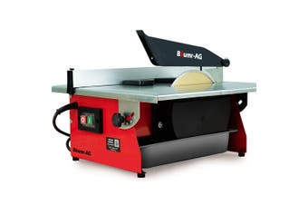 BAUMR-AG Table Tile Saw Wet Cutter 600W 7 Inch 180mm Top Electric Ceramic Porcelain