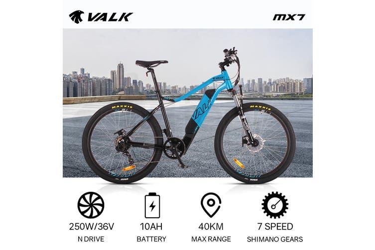 VALK Electric Bike eBike Battery Mountain Bicycle Motorized eMTB 36V 250W 27.5 Inch
