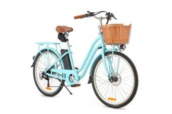 VALK Electric Bike Vintage Ladies Womens ebike 36V Bicycle e Battery 26 Inch 250W