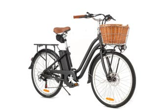 VALK Electric Bike Vintage Ladies Womens ebike 36V Bicycle e Battery 26 Inch 250W