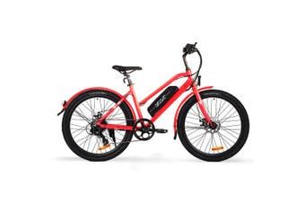 VALK Electric Bike eBike Ladies e-Bike Motorized Bicycle Battery Womens 36V 250W