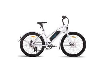 VALK Electric Bike eBike Ladies e-Bike Motorized Bicycle Womens Battery 36V 250W