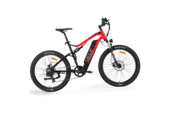 VALK Electric Dual Suspension Mountain e-Bike TEKTRO MAXXIS VELO eMTB eBike mtb