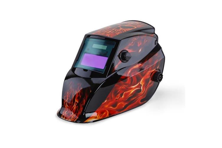 ROSSI Solar Auto Darkening Welding Helmet Mask MIG/ARC/TIG Welder Machine