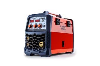 ROSSI 280Amp Welder MIG ARC MAG Gas Gasless DC Welding Machine Inverter Tool