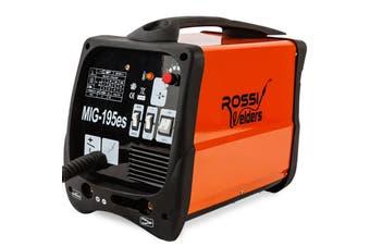 ROSSI 195Amp Welder MIG ARC MAG Welding Machine Gas / Gasless Portable 195A