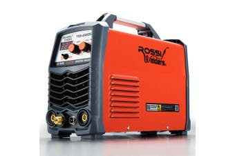 ROSSI 220A Welder Stick GTAW Gas Tungsten Arc Welding Machine Inverter TIG MMA