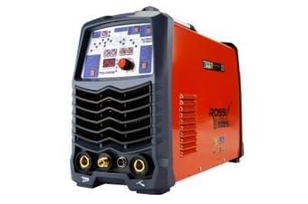 ROSSI 250A Welder Stick AC/DC GTAW Gas Tungsten Arc Welding Machine Inverter TIG
