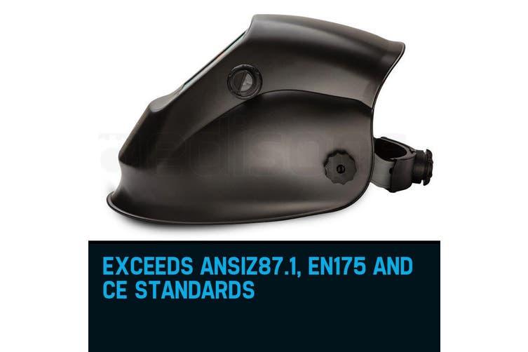 ROSSI Solar Auto Darkening Welding Helmet ARC/TIG/MIG Welder Machine Mask