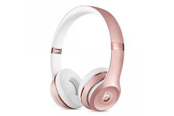 Beats Solo3 Wireless On-Ear Headphones - Rose Gold [Au Stock]