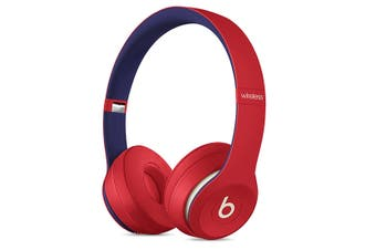 Beats Solo3 Wireless On-Ear Headphones Club Collection - Red [Au Stock]
