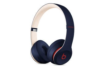 Beats Solo3 Wireless On-Ear Headphones Club Collection - Navy [Au Stock]