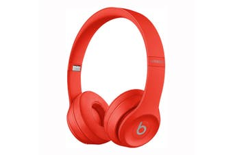 Beats Solo3 Bluetooth On-Ear Headphones - Red [Au Stock]