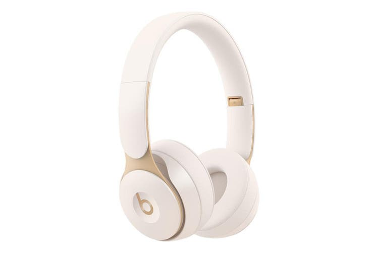 Beats Solo Pro Wireless Noise Cancelling Headphones - Ivory [Au Stock]