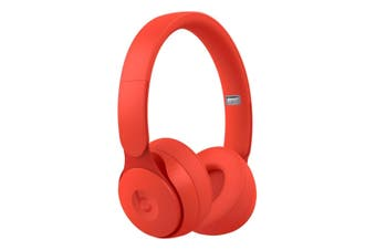 Beats Solo Pro Wireless Noise Cancelling Headphones - Red [Au Stock]