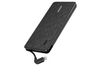 Anker PowerCore+ Metro 18W 10000mAh Power Bank with Built-in Lighting Connector - Black  [Au Stock]