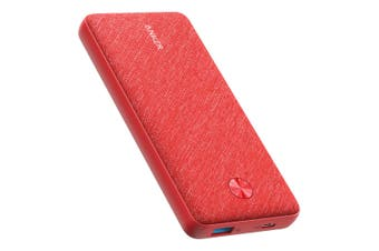 Anker PowerCore Essential 18W 20000mAh PD Power Bank A1281T51 - Red [Au Stock]