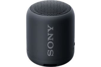 Sony SRS-XB12 Extra Bass Portable Wireless Speaker - Black [Au Stock]