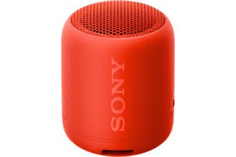 Sony SRS-XB12 Extra Bass Portable Wireless Bluetooth Speaker - Red [Au Stock]