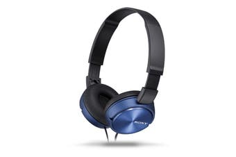 Sony MDR-ZX310AP Stereo Over-Ear Headphones - Blue [Au Stock]