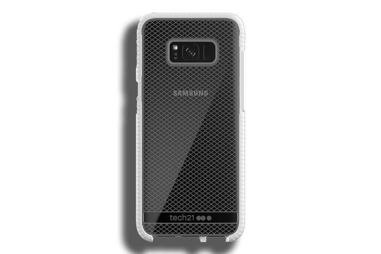 Tech21 Evo Check Case for Samsung S8+ Plus - Clear/White [Au Stock]