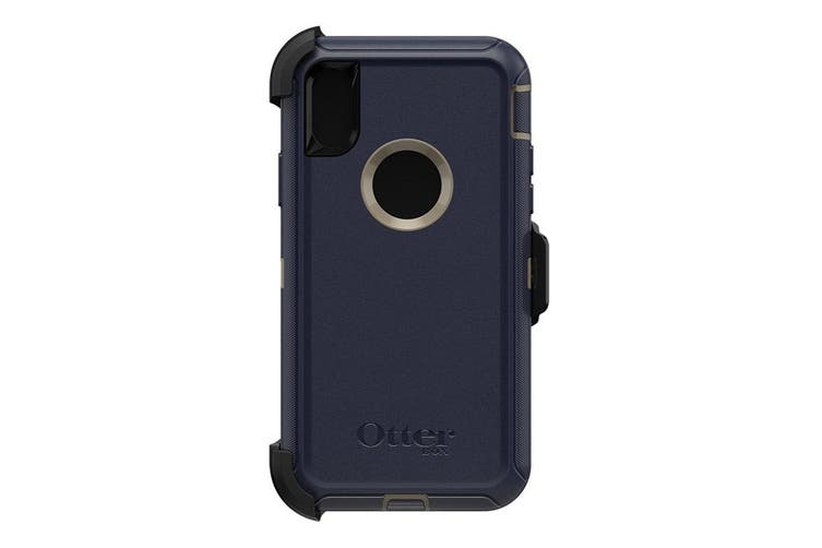 Otterbox Defender Case for Apple iPhone Xs / X - Dark Lake Blue [Au Stock]