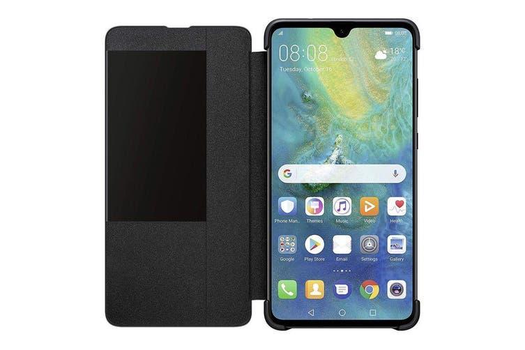 Huawei Mate 20 Smart View Flip Cover - Black [Au Stock]