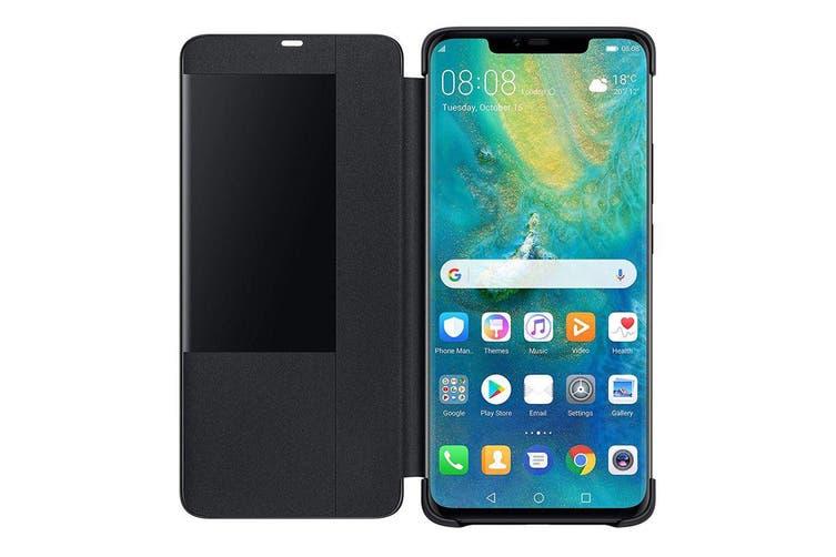 Huawei Mate 20 Pro Smart View Flip Cover - Black [Au Stock]