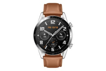 Huawei Watch GT 2 Classic 46mm Smartwatch - Pebble Brown [Au Stock]