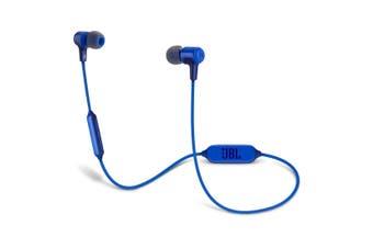 JBL E25BT Wireless In-Ear Headphones - Blue
