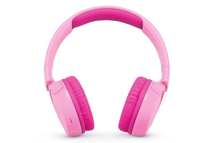 JBL JR300BT Kids Wireless On-Ear Headphones - Pink [Au Stock]